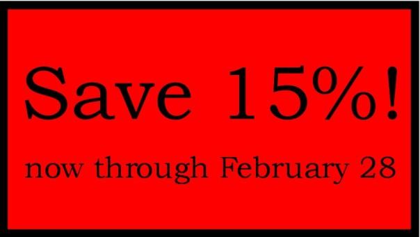 15 coupon code