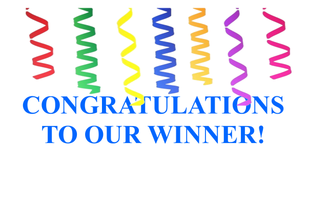 Congratulations 1 winner