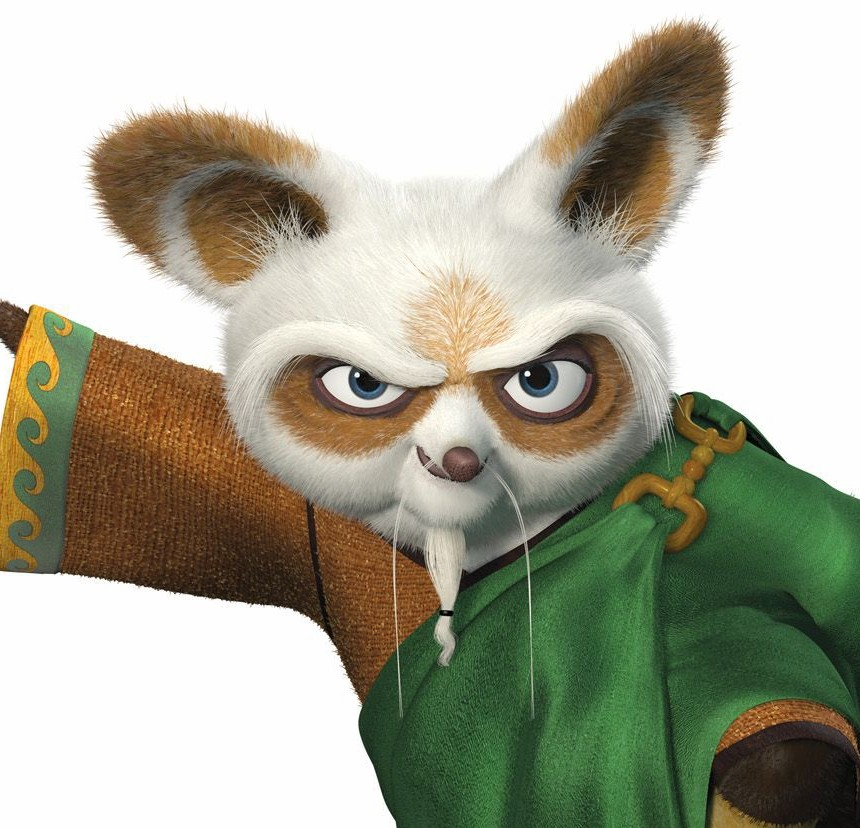 Colors - Kung fu panda shifu ...
